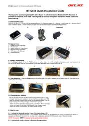 Qstarz bt-q818 Installation Instruction