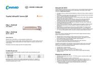 Aurora Quartz IR radiator 750 W, 1500 W 5 m² White QH 3015 QH 3015 Data Sheet