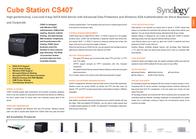 Synology CS407 1TB CS407_2050 Leaflet