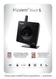 Y-cam Black S YCB004 Leaflet