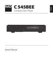 NAD C545BEE User Manual