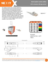 Nexxt Solutions AB361NXT03 Leaflet