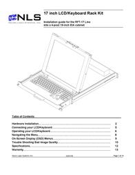 Neuro Logic Systems NLS 1U Server Console RFT-17 User Manual
