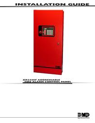 DMP Electronics XR2500F User Manual