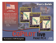 ALK Technologies pocket pc 4 User Manual
