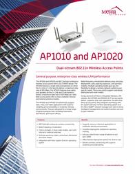 Meru Networks AP1020I User Manual