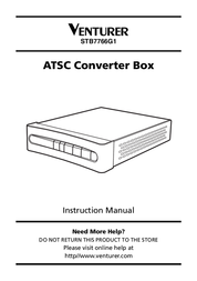 Venturer STB7766G1 User Manual