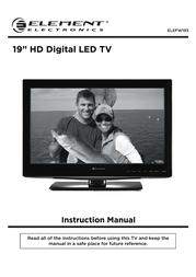 ELEMENT Electronics ELEFW193 User Manual