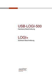 Deditec USB-LOGI-500 Logic-Analyzer, Logic analyzer Bandwidth 500 MHz USB-LOGI-500 Data Sheet
