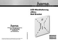 "Hama ""Slim"" LCD Wall Bracket 00049525 Data Sheet"
