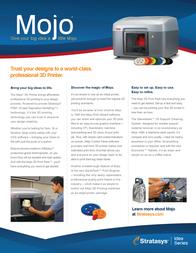 Stratasys Mojo 690-10100 Leaflet
