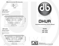 DB Link DB Research Automobile Electronics K5F 10D4 Leaflet
