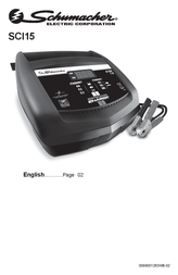Schumacher Automatic charger SCI15 User Manual
