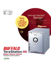 Buffalo TeraStation Home Server 2.0TB HS-D2.0TGL/R5-1 User Manual