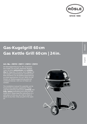 Roesle G60 25010 User Manual
