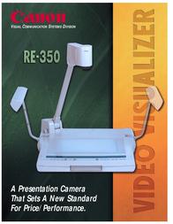 Canon RE-350 MKII F93-0202-531 User Manual