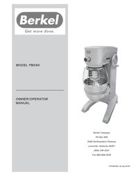 Berkel FMS60 User Manual