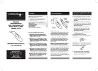 Lumiscope DELUXE 2215 User Manual