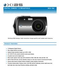 Norcent DCS-760 Листовка