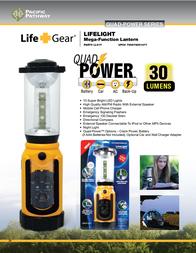 LifeGear LL01Y Leaflet