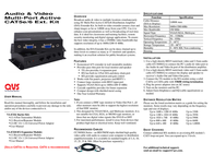 QVS VA-EXK User Manual
