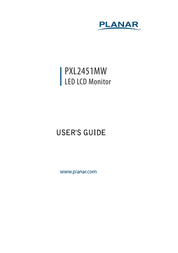Planar PXL2451MW User Manual