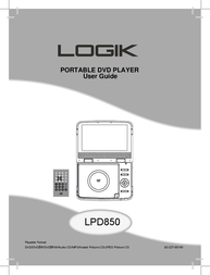 Logik LPD850 User Manual
