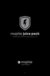 Mophie JP-SSG5-RED Owner's Manual