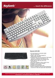 KeySonic ACK-230 Leaflet