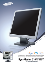 Samsung 15IN LCD 510N SIL MJ15ASKS Leaflet