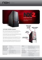 NOX NX-2 NOXNX-2 User Manual