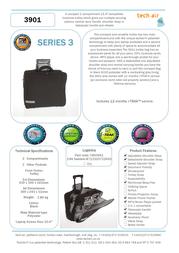 "Tech air Travel Trolley 15.4"" TAN3901 Leaflet"