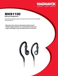 Magnavox MHS1100 MHS1100/00 Leaflet