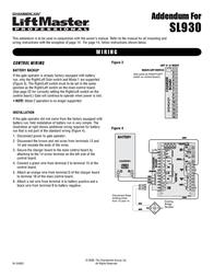 Chamberlain SL930 Leaflet