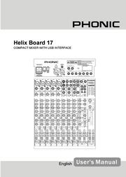 Phonic 17 User Manual