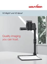 WolfVision VZ-8light³ 102001 User Manual