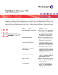Alcatel-Lucent OAW-4308T User Manual