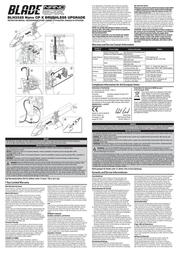 Blade BLH3325 Leaflet