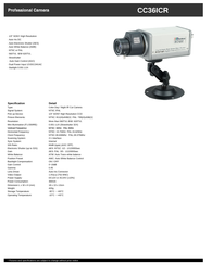 COP-USA cc36icr Specification Guide