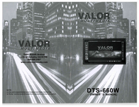 Valor dts-660w User Guide