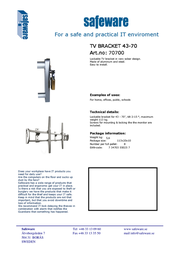 Safeware 70700 Leaflet