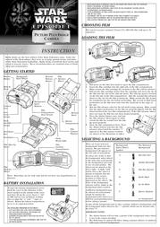 Hasbro Picture Plus Image Camera 88-304 Leaflet