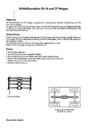 Mayerhofer Modellbau 40310 Sliding contacts 40310 Data Sheet