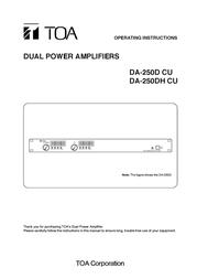 Vector DA-250DH CU User Manual