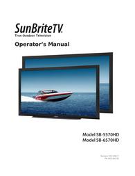 SunBriteTV SB5570HDSL User Manual