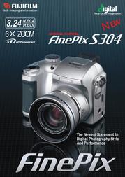 Fujifilm FINEPIX S304 ZOOM S304 User Manual