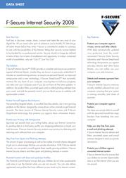 F-SECURE Internet Security 2008 FCI8BR1N003IN Leaflet