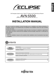 Eclipse avn5500 Installation Instruction