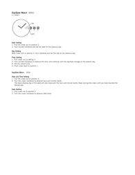 Fossil am4334 Supplementary Manual