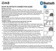 iHome iDM8 IDM8BYC Leaflet